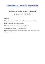 Documentazione UIL – Mercato del Lavoro / Marzo 2012 ... - UIL SGK