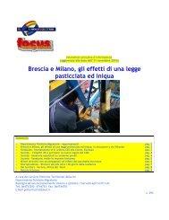Brescia e Milano, gli effetti di una legge pasticciata ed ... - UIL SGK