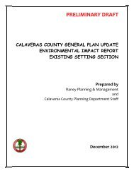 Figure 4.12-1 - Calaveras County