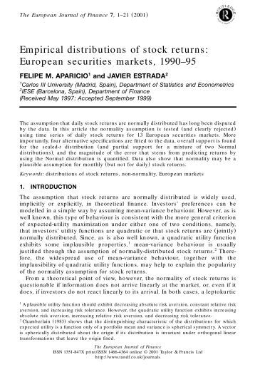 an empirical analysis of market and Traditional retail markets have long been the center for urban vitality,  an  empirical analysis on the economic and leisure performances of.