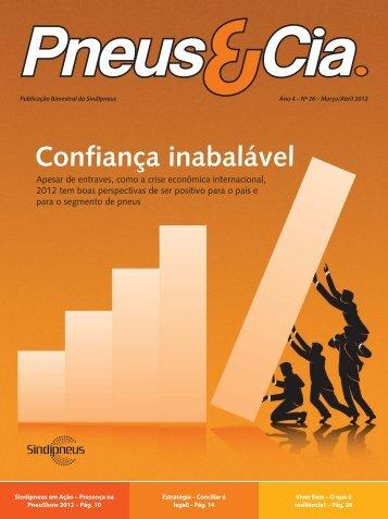 Revista Pneus e Cia nº26 - Sindipneus
