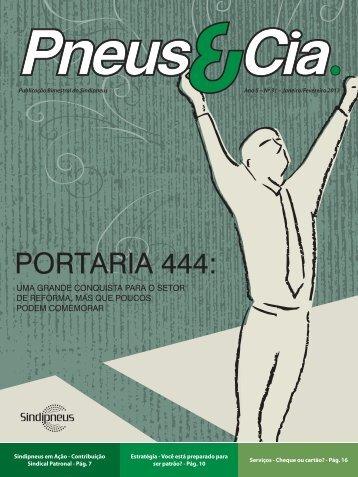 Revista Pneus e Cia nº31 - Sindipneus