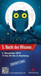 als Programmheft-PDF (6 MB) - Nacht des Wissens - Hamburg