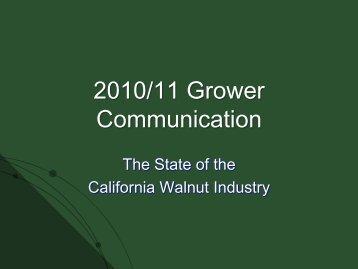 2009/10 Grower Communication