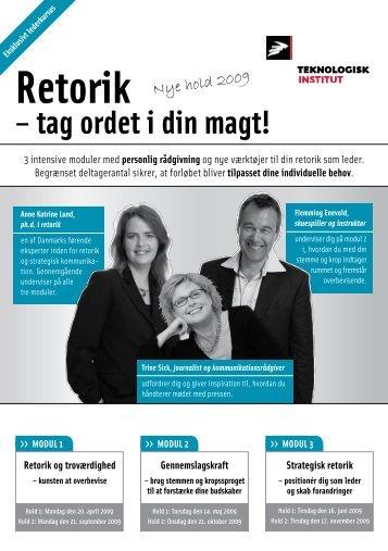 retorik - Anne Katrine Lund