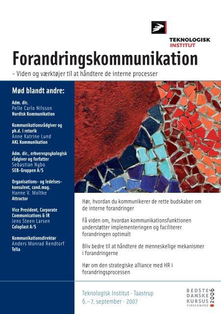 Forandringskommunikation - Anne Katrine Lund
