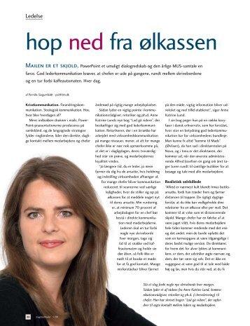Download artikel her - Anne Katrine Lund