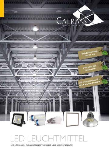 LED LEUCHTMITTEL - Calrays GmbH