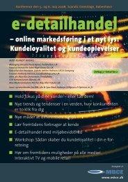 Kundeloyalitet og kundeoplevelser - MBCE