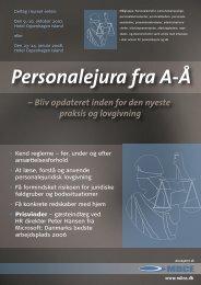 Personalejura fra A-Å - MBCE