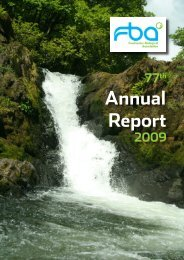 Annual Report and Accounts 2009 - Freshwater Biological Association
