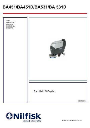 advance convertamatic 26d parts manual