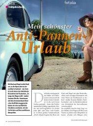 Anti-Pannen- Urlaub - active woman Drive & Style