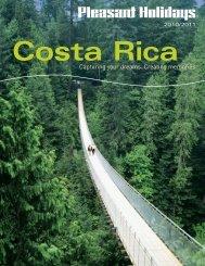 2010-2011 Costa Rica Brochure.indd - Lakeside Travel