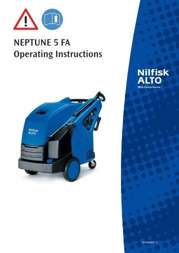Neptune 5 FA Operating Instructions - 107140337 ... - Nilfisk-Advance
