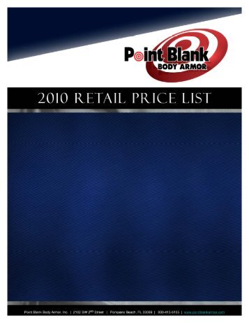Retail Price List 2010.ppt - American Services And Products