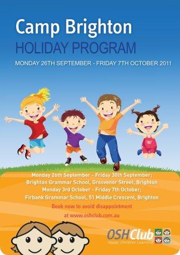 Camp Brighton Holiday Program