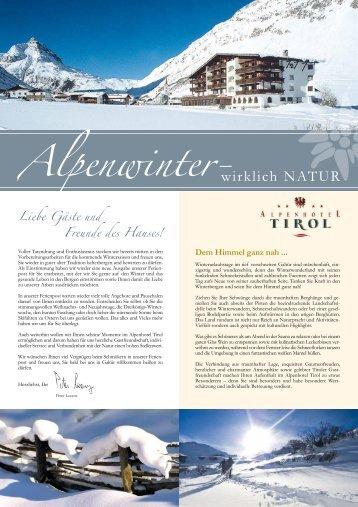 Doppelzimmer - Alpenhotel Tirol