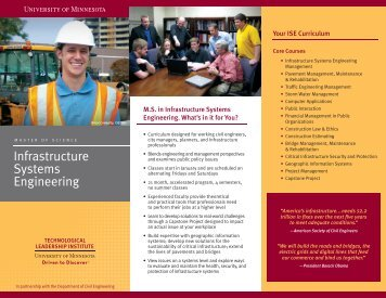 ISE_Tri-fold_for web.indd - Technological Leadership Institute ...
