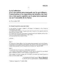 Convention internationale sur la surveillance, l ... - wheelchair.ch