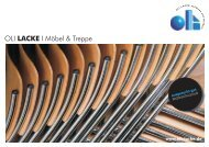 OLI I Möbel & Treppe LACKE - Oli Lacke GmbH