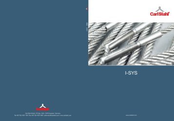 to download a copy of our latest I-SYS® catalogue
