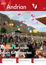 Andrian hat einen neuen Kindergarten