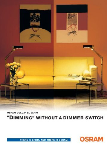 """DIMMING"" WITHOUT A DIMMER SWITCH - TroqueDeEnergia.com"