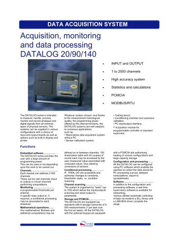 Data Acquisition System : Geotech smart data acquisition system input terminated