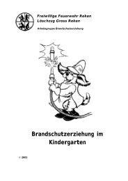 Brandschutzerziehung In Kindergarten Und Grundschule