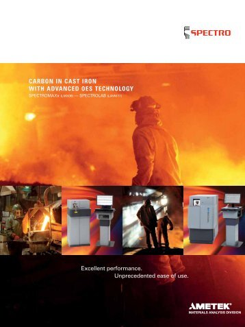 carbon in cast iron with advanced oes technology