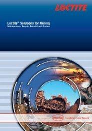 Loctite® Solutions for Mining Maintenance, Repair, Rebuild and ...