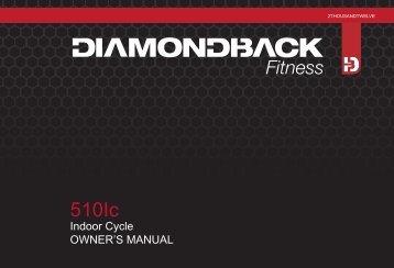 510Ic Owner's Manual - Diamondback Fitness