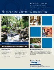 Elegance and Comfort Surround You - Woodmont Apartment Rentals