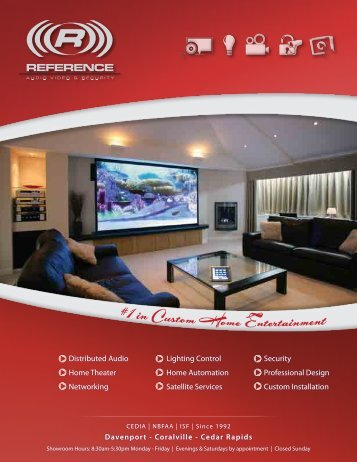 Distributed Audio Home Theater Networking Lighting Control Home ...