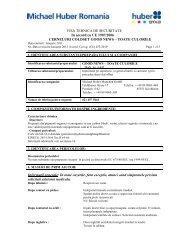 FISA TEHNICA DE SECURITATE In accord cu CE ... - AGP Vectorial