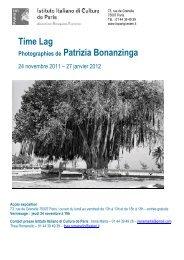 Time Lag Photographies de Patrizia Bonanzinga