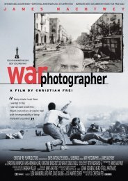 Christian Frei - War Photographer