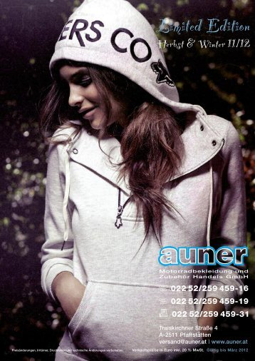 Limited Edition - Auner