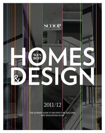 WA's Best Homes 11-12 - Design Living Studio