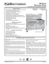 4 Burner - Burkett Restaurant Equipment
