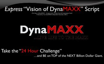 "Express""Vision of DynaMAXX"" Script - SEE the Vision * WORK the ..."