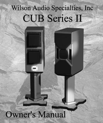 Cub Series 2 - Wilson Audio