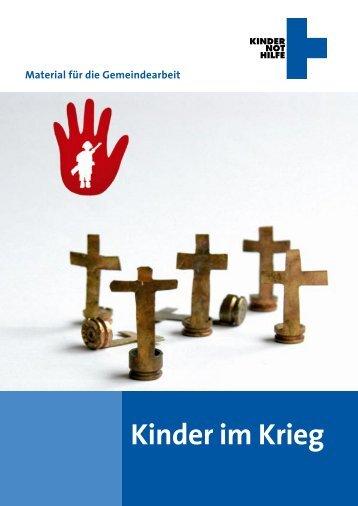 Kinder im Krieg - Kindernothilfe