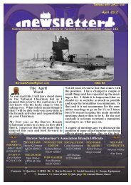 April 12 - Barrow Submariners Association