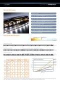 Datenblatt SlimFlex und LumiFlex LED Leisten - LEDS.de - Seite 2