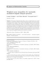 Weighted norm inequalities for maximally modulated singular ...