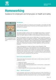 Homeworking health & safety guidance - i-FM.net