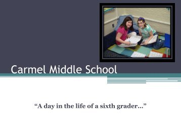 Carmel Middle School - Carmel Clay Schools