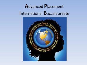 AP/IB PowerPoint 2012 - Carmel Clay Schools